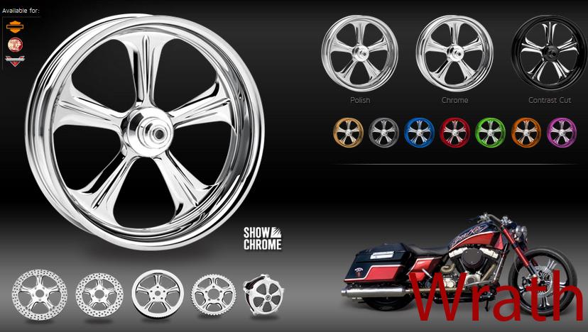 Bikers Image Custom Motorcycle Wheels For Cruisers Metric